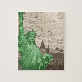 Puzzle Statue de la liberté classique