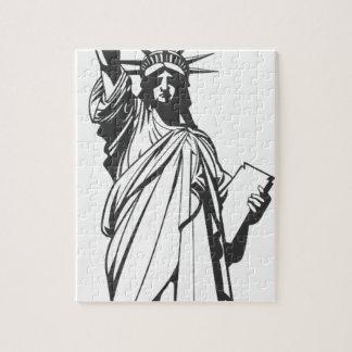 Puzzle Statue de liberté d'Amérique