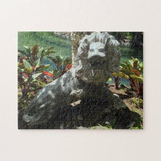 Puzzle Statue de lion d'hurlement, Waikoloa, Hawaï