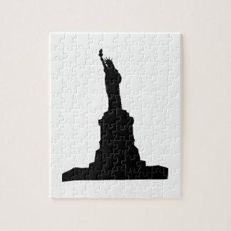 Puzzle Statue de noir de liberté