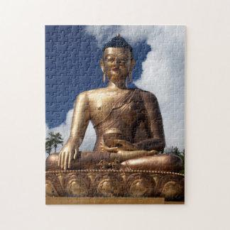 Puzzle Statue se reposante de Bouddha