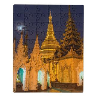 Puzzle Stupa d'or et temples