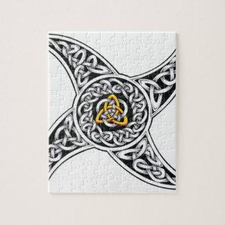 Puzzle symbole de celtique-guerriers