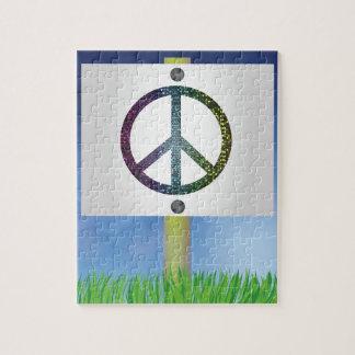 Puzzle symbole de paix
