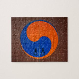 Puzzle Symbole de Yin et de Yang, Corée du Sud