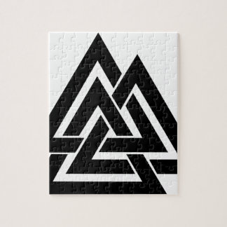 Puzzle Symbole nordique Odin de protection des norses de