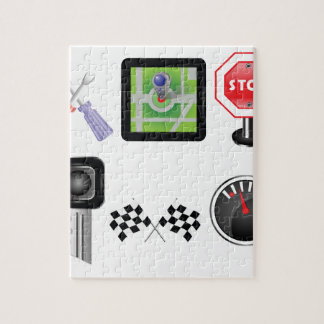 Puzzle symboles de voiture
