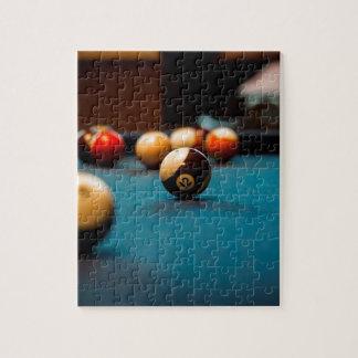 Puzzle Tableau de boule de piscine