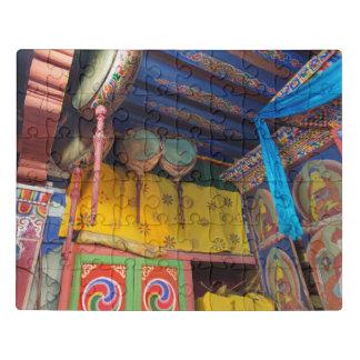 Puzzle Tambours à l'intérieur d'un temple