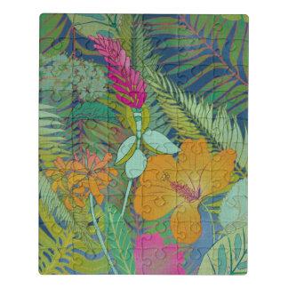 Puzzle Tapisserie tropicale II