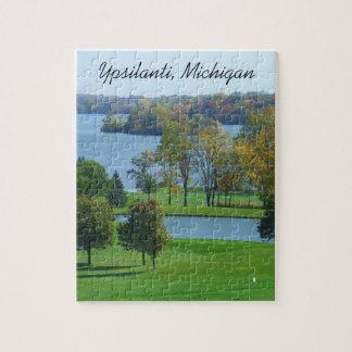 Puzzle Terrain de golf de Ypsilanti Michigan sur des