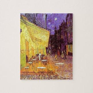 Puzzle Terrasse de café de Van Gogh la nuit