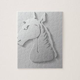 Puzzle Tête de cheval