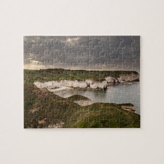 Puzzle Tête de Flamborough et photo de souvenir de baie
