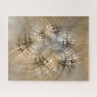 Puzzle Texture moderne d'art de fractale d'abrégé sur