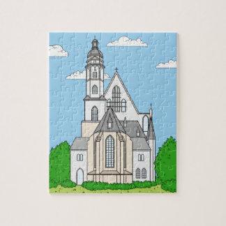 Puzzle Thomas-église Leipzig - Johann Sebastian Bach