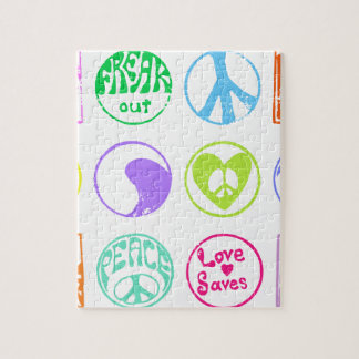 Puzzle Timbres hippies