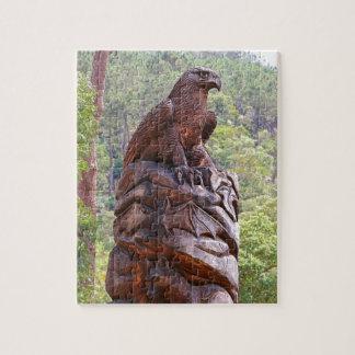 Puzzle Totem d'Eagle découpant, Portugal