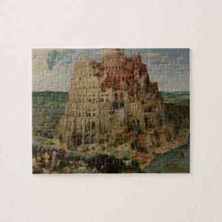 Puzzle Tour de Babel par Pieter Bruegel l'aîné, 1563