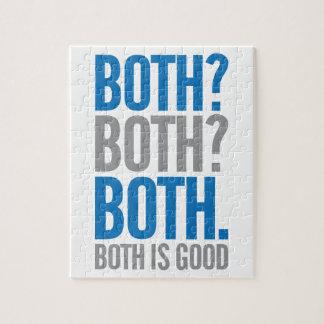 Puzzle Tous les deux sont bons