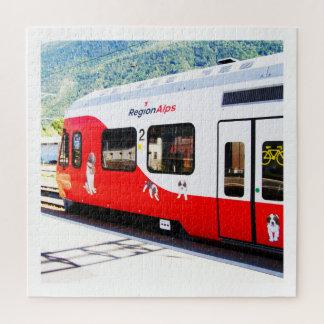 Puzzle Train d'Alpes de région