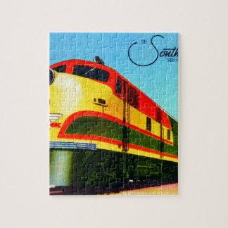 Puzzle Train du sud de belle