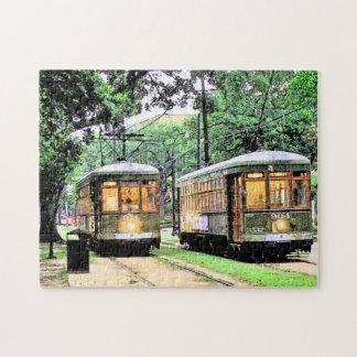 Puzzle Tramway de la Nouvelle-Orléans