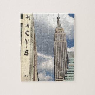 Puzzle trente-quatrième Empire State Building Manhattan