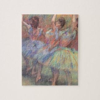 Puzzle Trois danseurs par Edgar Degas, art vintage de