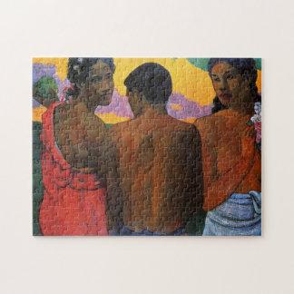 """Puzzle """"Trois Tahitians"""" - Paul Gauguin"""