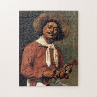 """Puzzle """"Troubadour hawaïen"""" - Hubert Vos"""