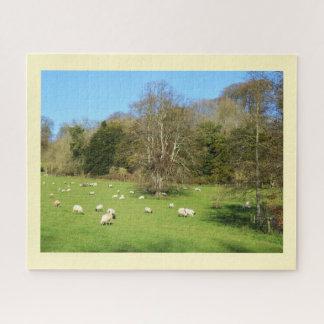 Puzzle Troupeau des moutons
