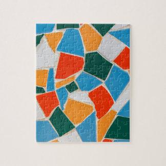 Puzzle Tuiles colorées sur le mur comme background.JPG