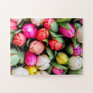 Puzzle Tulipes fraîchement sélectionnées