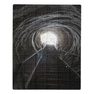 Puzzle Tunnel foncé de caverne