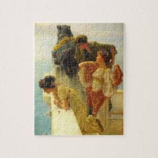 Puzzle Un Coign d'avantageux par Alma Tadema, art vintage