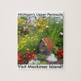 Puzzle Un jardin d'agrément d'île de Mackinac