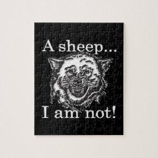 Puzzle Un mouton, je ne suis pas