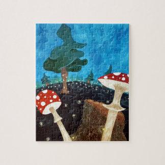 Puzzle Une nuit trippy dans les bois