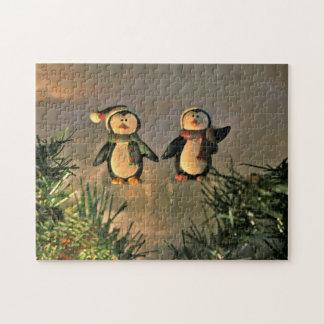 Puzzle Une paire de pingouins