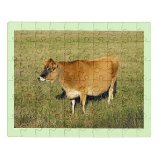 Puzzle Vache du Jersey