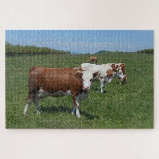 Puzzle Vaches dans le pâturage