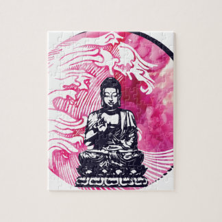 Puzzle Vague de Bouddha d'ouragan