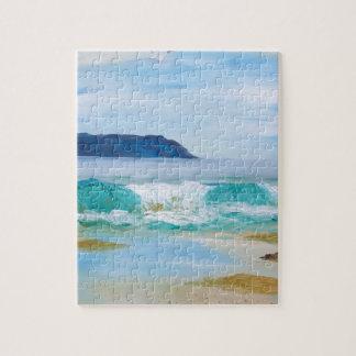 Puzzle Vague de rupture par KatGibsonArt - aimez la plage