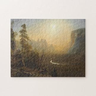 Puzzle Vallée de Yosemite, traînée de point de glacier