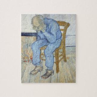 Puzzle Vieil homme de Vincent van Gogh | dans la peine