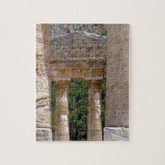 Puzzle vieilles ruines de pierre
