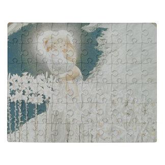 Puzzle Vierge des lis