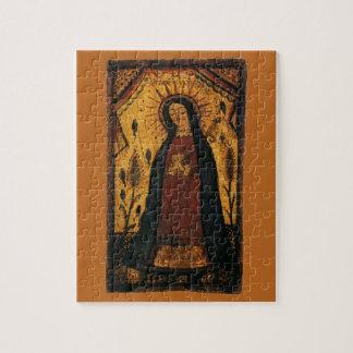 Puzzle Vierge Marie priant par Pedro Antonio Fresquis
