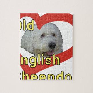 Puzzle Vieux chien de berger anglais